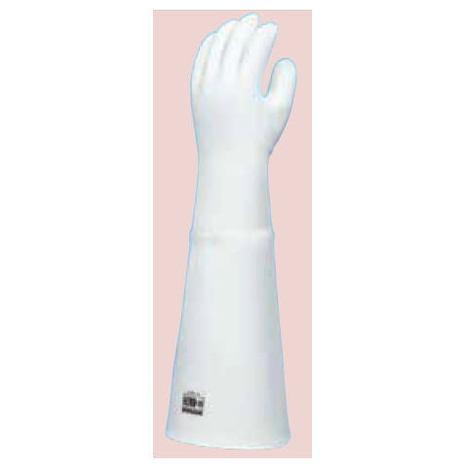 ダイローブH200-55(1双) 耐熱用手袋 シリコーン製 裏地付 二重構造 ロングタイプ(長さ55cm) ダイヤゴム