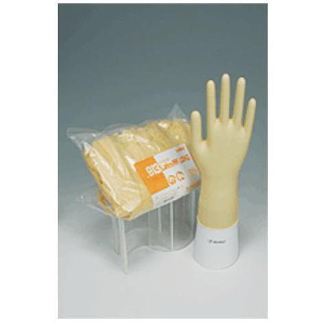 【リーブル】No.913 ラテックスノンパウダーロング100枚入×10袋(1000枚)・30cmのロングタイプです。・スムースな表面のスタンダードな手袋です。