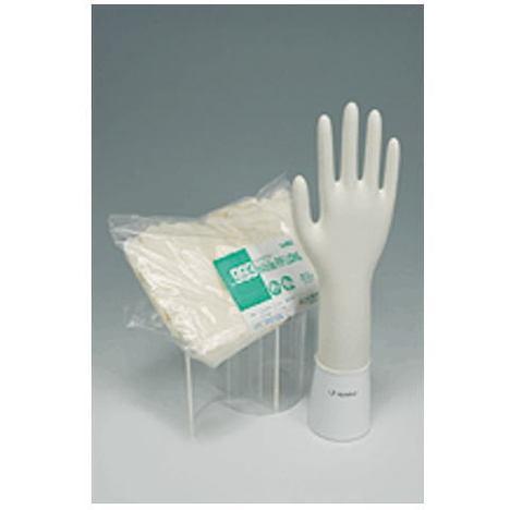 【リーブル】No.993 ニトリルノンパウダーロング100枚入×10袋(1000枚)・30cmのロングタイプです。・指先エンボスタイプで細かい作業に適しています。