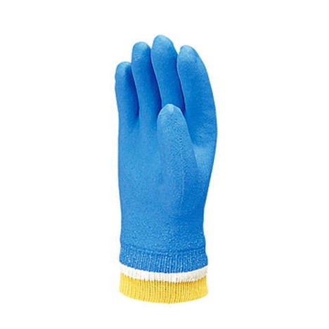 【三重化学工業】あったかスーパーソフトG防寒(10双)・一重防寒ビニール手袋・裏起毛・ジャージ付樹脂素材も裏布もランクアップで手に優しい手袋です。【ミエローブ】