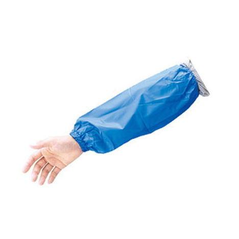 【三重化学工業】ビニール腕カバー(10双)・寒くても堅くなりにくく、柔軟性に優れています。【ミエローブ】