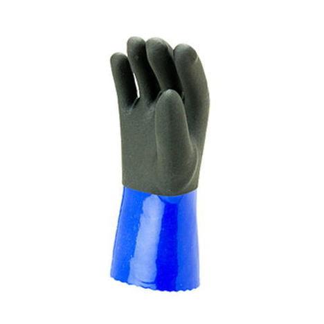 【三重化学工業】ニューライトボア(10双)・一重防寒ビニール手袋裏起毛タイプ・コストパフォーマンスに優れ、非常にリーズナブルな防寒手袋です。【ミエローブ】
