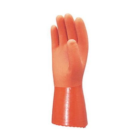 【三重化学工業】やわらかNo.5(シームレス)(10双)・ビニール手袋・当社独自の特殊配合で、柔らかくて抜群の作業性。【ミエローブ】