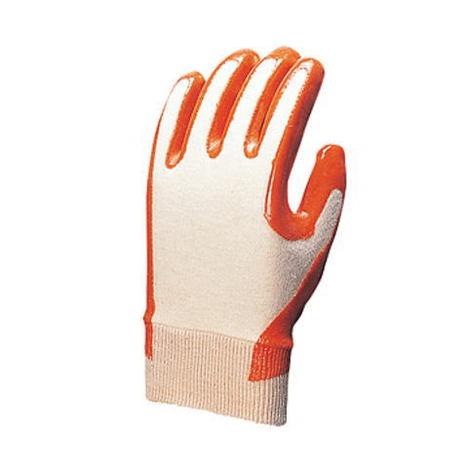 【三重化学工業】No.210-K(10双)・ビニール背抜き手袋・全面背抜き仕様で、通気性と柔軟性に優れています。(スベリ止無)【ミエローブ】