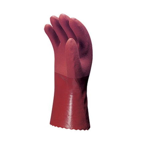 【三重化学工業】No.230-E(10双)・ビニール手袋・強さプラススベリ止め効果で、物をしっかりつかめます。【ミエローブ】