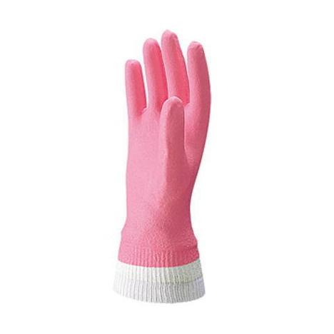 【三重化学工業】スーパーソフトG (10双)・ビニール手袋・柔軟剤加工でしなやかで柔らかい手袋です。・袖口ジャージ付タイプ【ミエローブ】