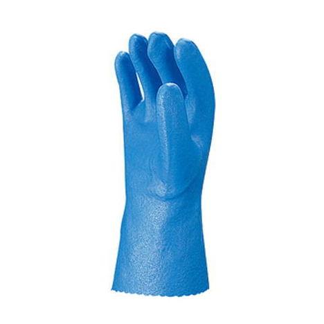 【三重化学工業】スーパーソフトR (10双)・ビニール手袋・柔軟剤加工でしなやかで柔らかい手袋です。・袖口カットタイプ【ミエローブ】
