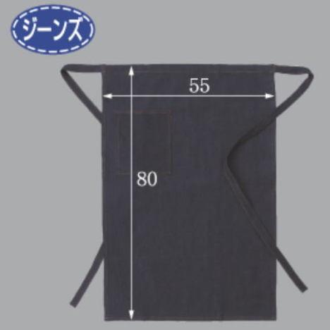 JNS-503デニム腰下前掛(10枚セット) 巾550mm×丈800mm 物流センターや運輸運送会社での梱包作業や仕分け作業に最適な作業用デニムエプロンです。 富士グローブ
