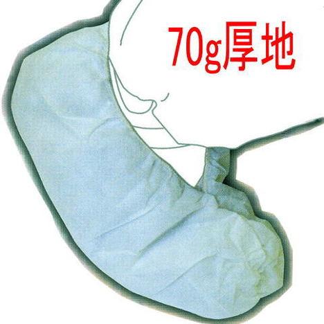 【富士手袋工業】1701不織布靴カバー4足入×125袋(500足分)・70g厚地【使い捨てシューズカバー】