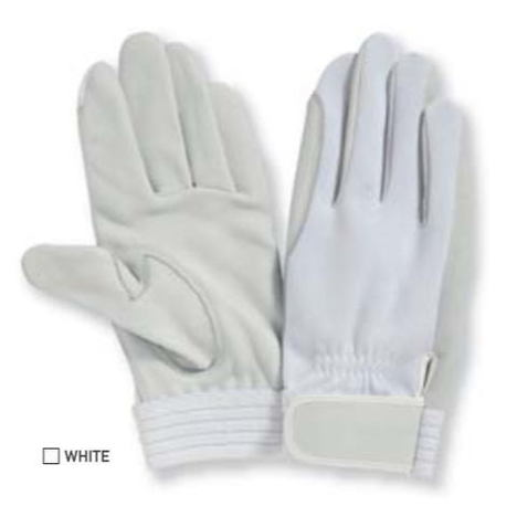航空自衛隊手袋 鹿皮白手袋 (1双) PROHANDS dn 690 パイロット手袋 プロハンズ