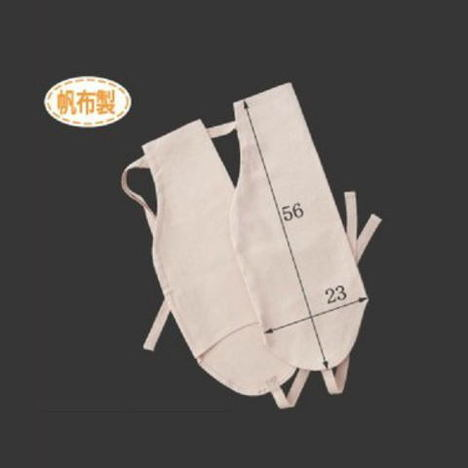 帆布腕カバー(10双) 布製アームカバー 長さ56cm×横幅23cm CAN-101 富士グローブ
