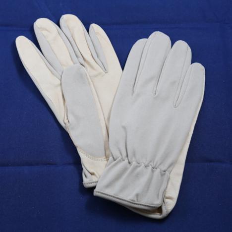 豚皮甲ナイロン手袋(10双) ベージュ 豚ライナーグローブ