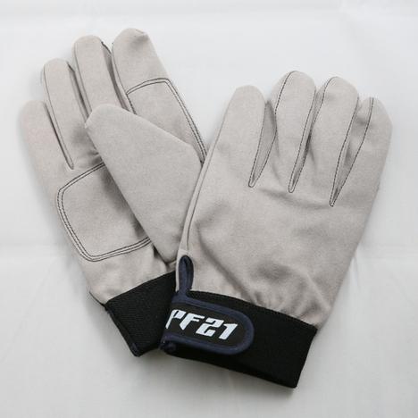 ワイドレシーバーグローブ 人工皮革レンジャー手袋(10双) PF004