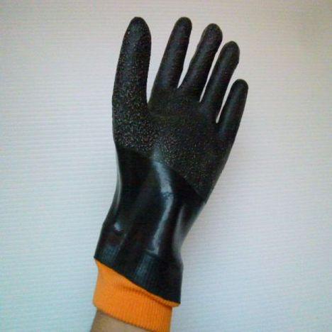 ニューローブDX(15双) 厚手ゴム手袋 滑り止め付 国産ゴム手袋ジャージ付 日本製 大洋工業