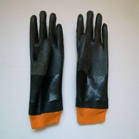 左手 ゴム手袋 厚手ゴム手袋滑り止め付ニューローブDX 左手用 30枚セット(30人分) 日本製 大洋工業