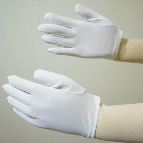 東レ ナイロンミルコットマチ付(1ダース) 国産生地使用 toray ナイロンスムス手袋 薄手のナイロン白手袋が必要なお客様向けです! ハーフコット 品質管理用ナイロン手袋