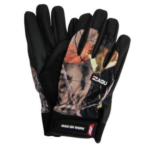 ザグ ZAGU (10双) タッチパネル対応 迷彩手袋 ミタニコーポレーション