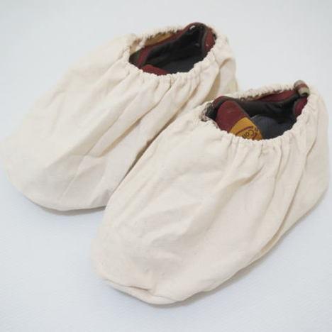 帆布靴カバー1足入×10袋(10足分) 強力キャンバス靴カバー 丈夫な靴カバー ハンプシューズカバー No 239 富士手袋工業 天牛 フジテ