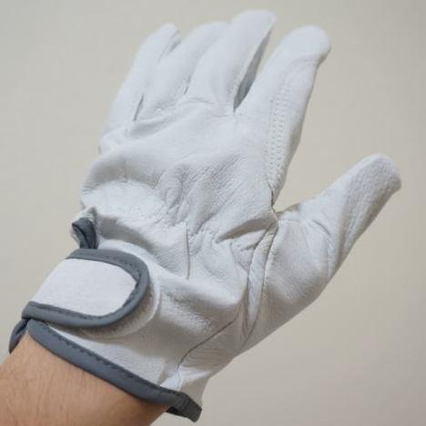 豚皮手袋マジックアテ付1双入×60袋(60双)まとめ買いで格安価格! 激安豚皮手袋
