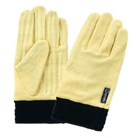 富士グローブ KY-104アラミドシングルニット鎖入(1双) 耐切創手袋 切創防止手袋