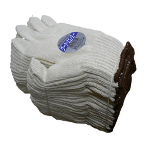 【純綿軍手】ワークエコノミー綿100%5本編軍手約750g(60ダース)