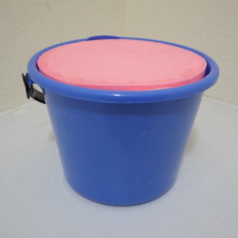 バケツ石鹸(2個セット) ピンク 8kg×2 国産 日本製 無公害 固形石鹸 業務用 タイヤ ホイール ゴムマット 洗浄