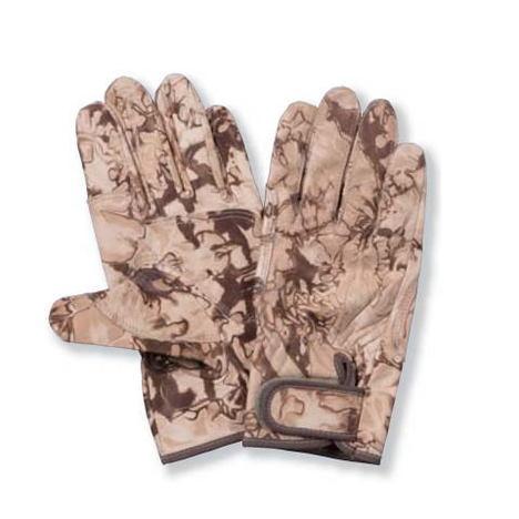 砂漠迷彩柄牛皮補強アテ付手袋 PROHANDS PH-36 プロハンズ サハラ迷彩 デザートカラー