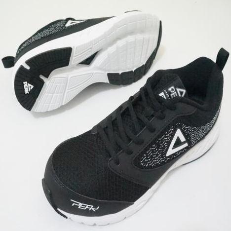 ピーク 安全靴 run 4501 クッション性能抜群のセーフティースニーカー peak 軽量 先芯入スニーカー