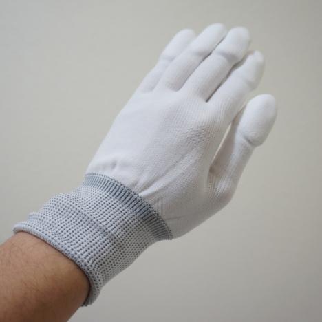指先ウレタンコーティング手袋(10双セット) PUトップコーティング手袋 PU指先コート 激安 最安値 SSサイズ対応
