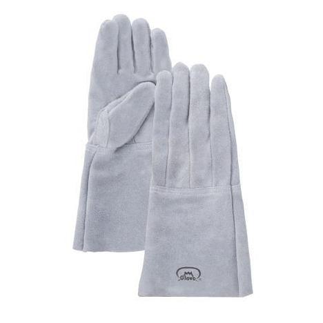 ガス溶接 革手袋 No.4Bガス溶断・溶接用5本指手袋(10双) 富士グローブ