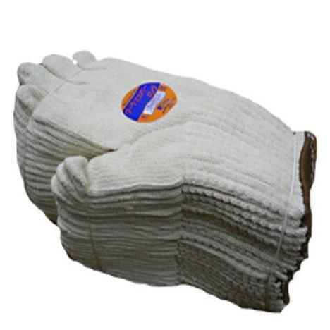 【純綿ロング軍手】ワークエコノミーロング綿100%糸5本編み約930g(20ダース)