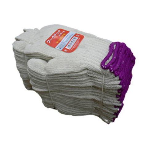 【女性用綿混軍手】ワークテックスモール混紡糸5本編み約500g(40ダース)