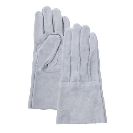 No.60長袖外縫溶接用5本指手袋(10双) 富士グローブ