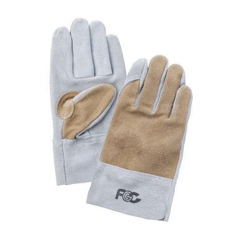 富士グローブ No.92-Tツートン床皮内縫手袋(10双)