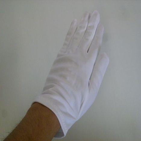 東レ ナイロンダブルコットマチ付(1ダース) toray ナイロンスムス手袋 厚手のナイロン白手袋が必要なお客様向けです! 国産生地使用 品質管理用ナイロン手袋