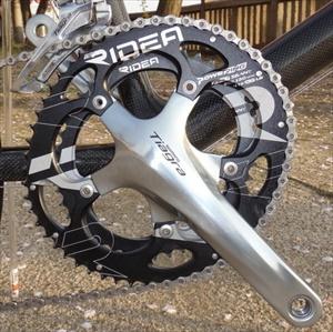 ロードバイクカスタム用RIDEAのチェーンリング通販なら【サイクルハート ロードバイクファクトリー】