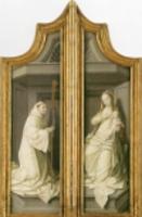 クリスマスカード/The Le Cellier Altarpiece