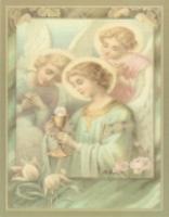 天使のレターシート
