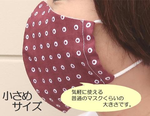日本製・手拭いとマスクのセット