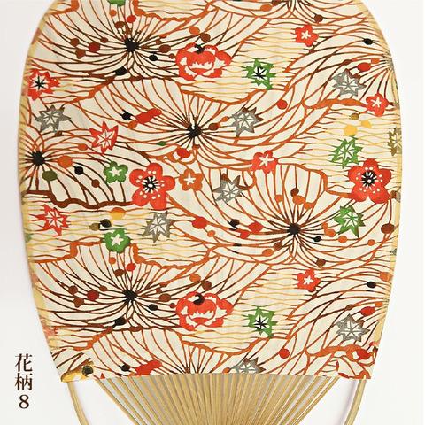 丸亀竹うちわ(花柄7~10)