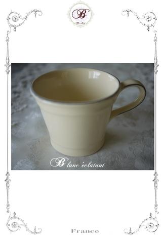 イギリス T&G マグカップ(オフホワイト)