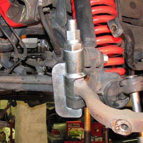 ベンツ W123 W124 W126 W201 W202 W140 他 タイロッドエンド&ドラックリンク脱着工具 HCB A1259