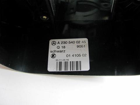 中古 ベンツ R230 左ハンドル ウィンカーレバー カバー付 0005452410