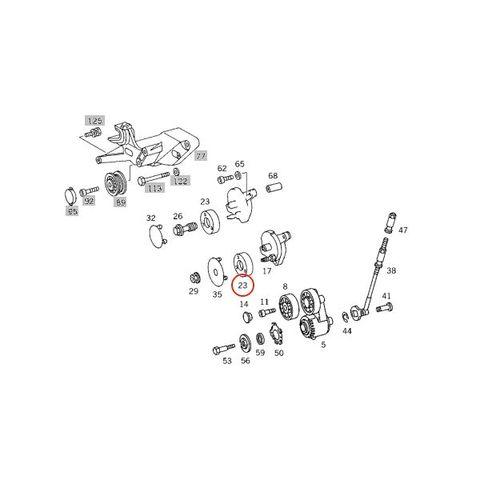 ベンツ W202 W124 W210 W140 R129 R170 W463 ベルトテンショナープーリー テンションプーリー 1192000970 1192001470