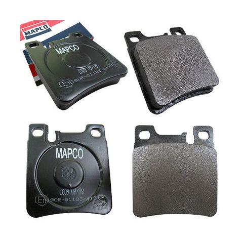 MAPCO製 ベンツ W220 W140 W210 W124 W208 R170 リアブレーキパッド左右セット 低ダスト 6781 0024200520 0024201620 0024204620