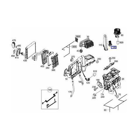 純正OEM BEHR製 ベンツ Eクラス W207/A207/C207 ブロアレジスター/ブロアレギュレーター 2048707710 351321491 E250 E350 E400 E550