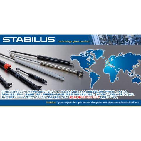 6ヶ月保証 STABILUS製 ベンツ W212(Eクラス) W218(CLSクラス) ボンネットダンパー/エンジンフードダンパー 左右2本セット 2048800029 032536