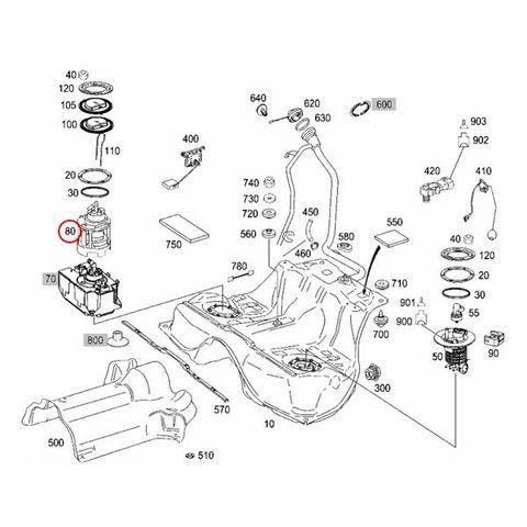URO製 ベンツ W221 Sクラス 燃料ポンプ/フューエルポンプ インタンク 2214705994 2214708494 S350 S500 S550 S550_4MATIC