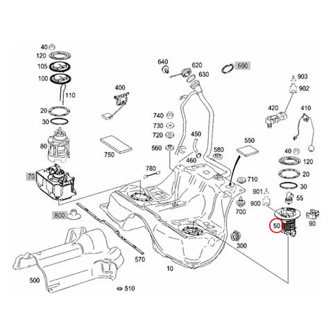 ベンツ W216 燃料フィルター/フューエルフィルター 2214701790 S350 S400_HYBRID CL550 CL600