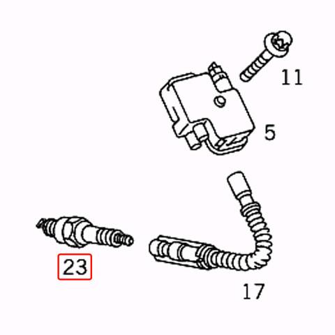 純正OEM BOSCH製 ベンツ SLKクラス R171 スパークプラグ M113 V8 M271 直4 エンジン 0041591303 0041594503 SLK200